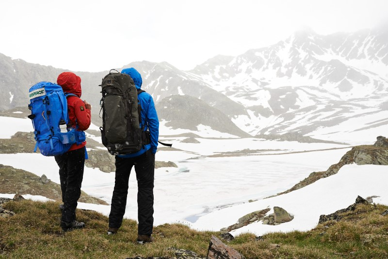 Greenpeace Expedition auf der Suche nach PFC in den entlegensten Orten der Welt.  © Christian Breitler, Greenpeace