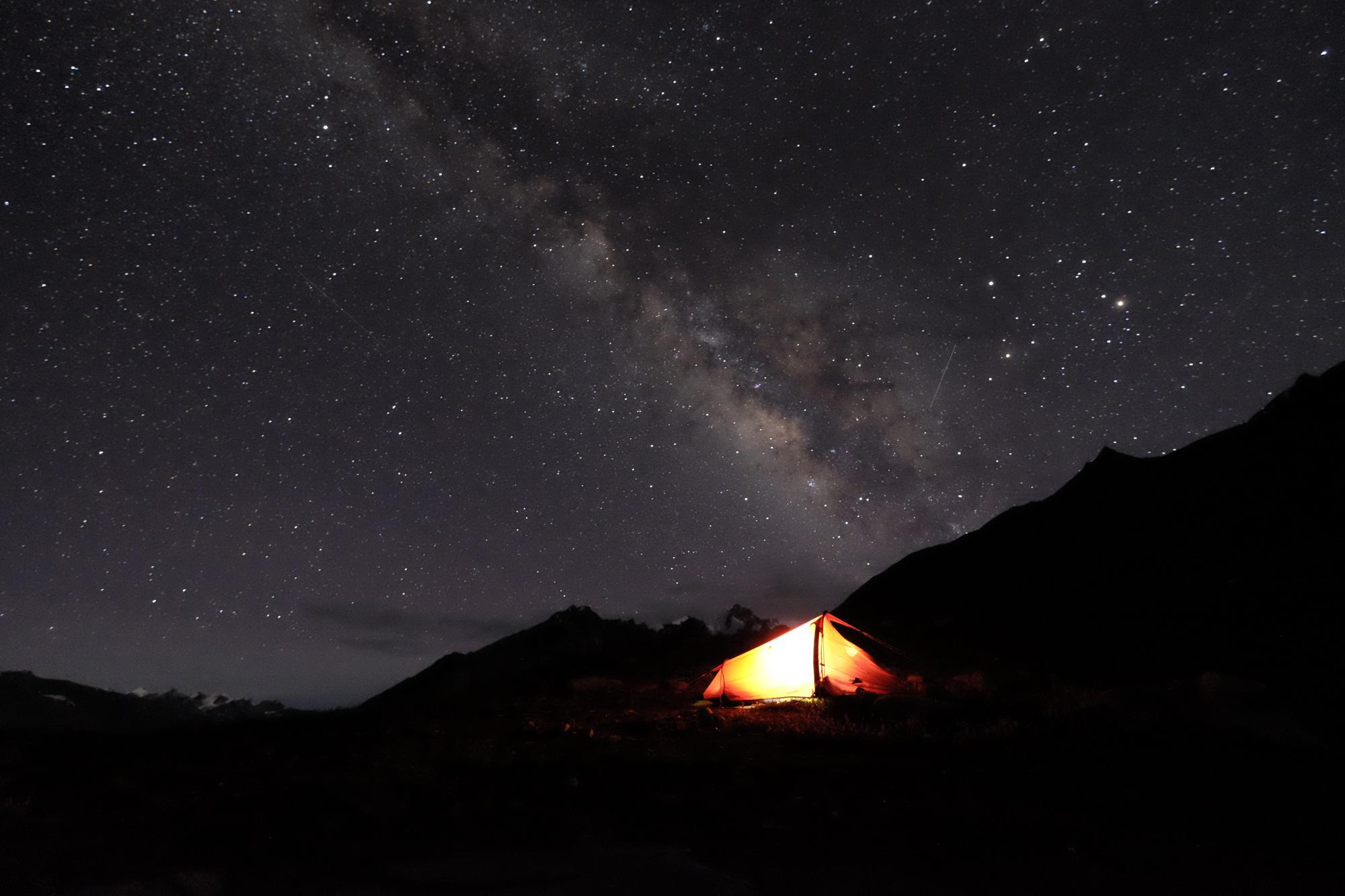 The night sky, Himalaya 2016 by Hamish, explorer
