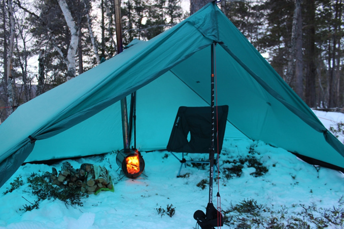 Last winter I set out on a trip through the Swedish mountains to try out a multi-day snowshoe journey combined with hot tent living. & Páramo Clothing Snowshoes hot tents and contentment in Sweden ...