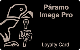 Paramo Image Pro Loyalty Card