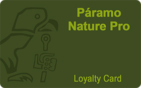 Paramo Nature Pro Loyalty Card