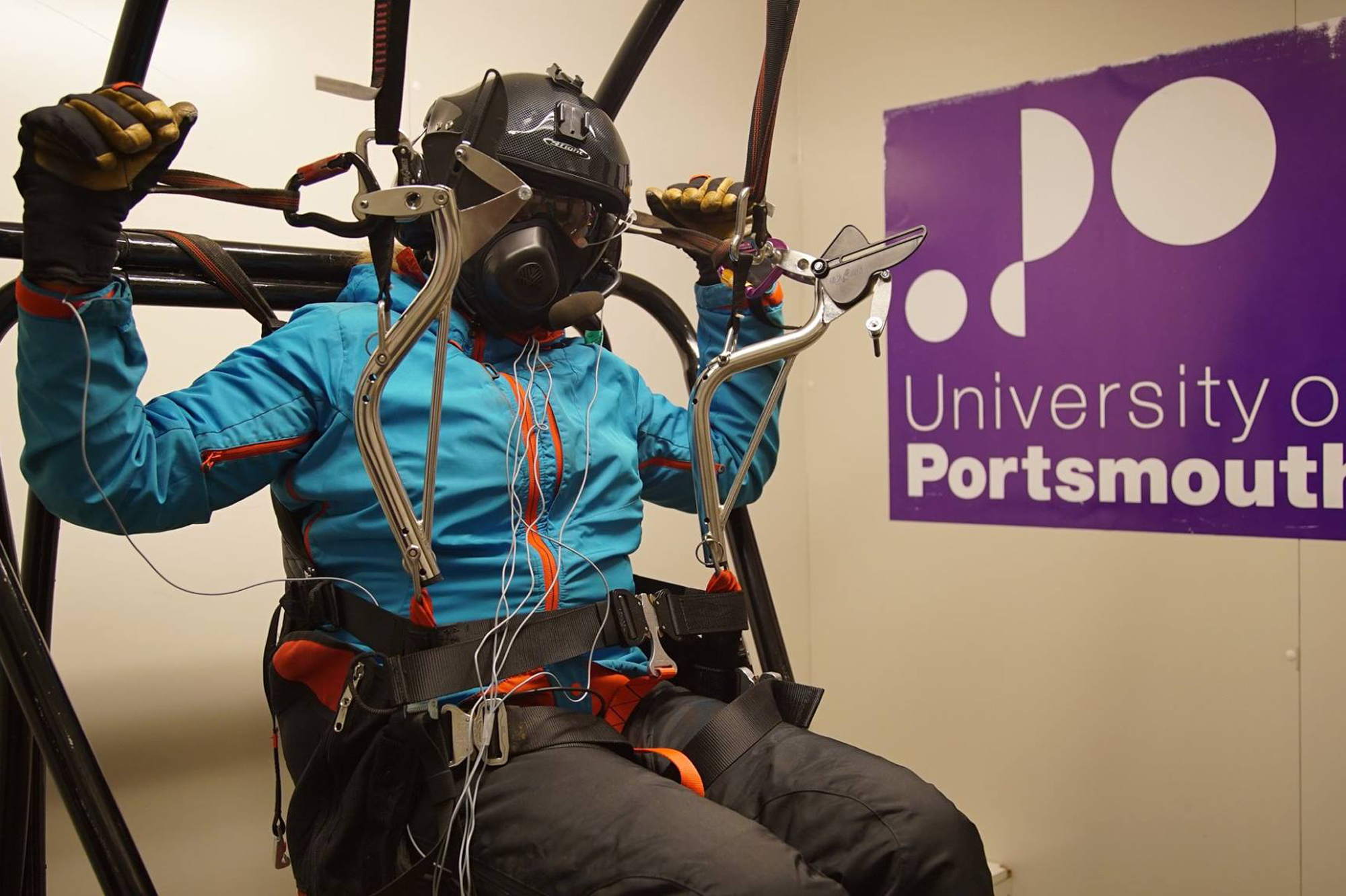 Cold chamber testing at University of Portsmouth