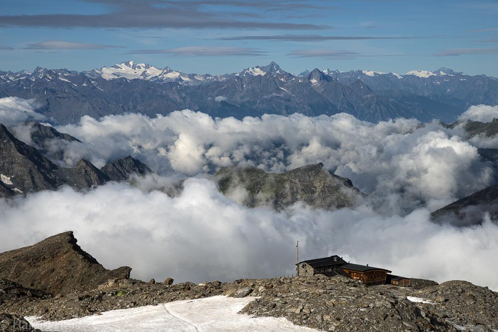 Das Monte Rosa Gebiet