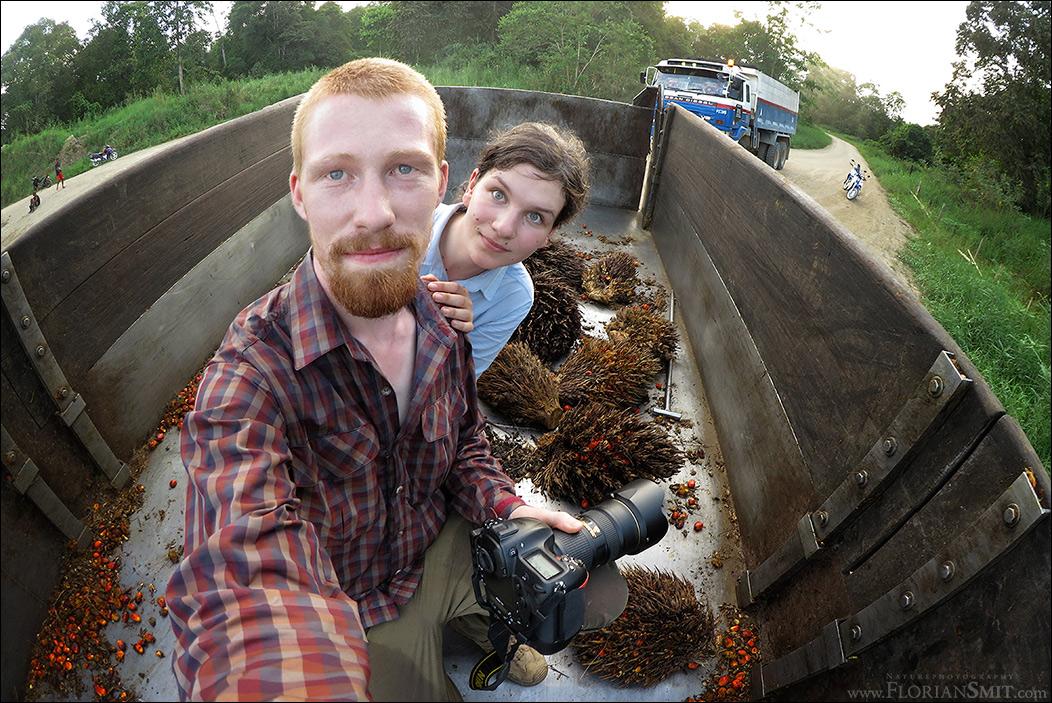 Flo und Lisa auf den Spuren des Palmöls