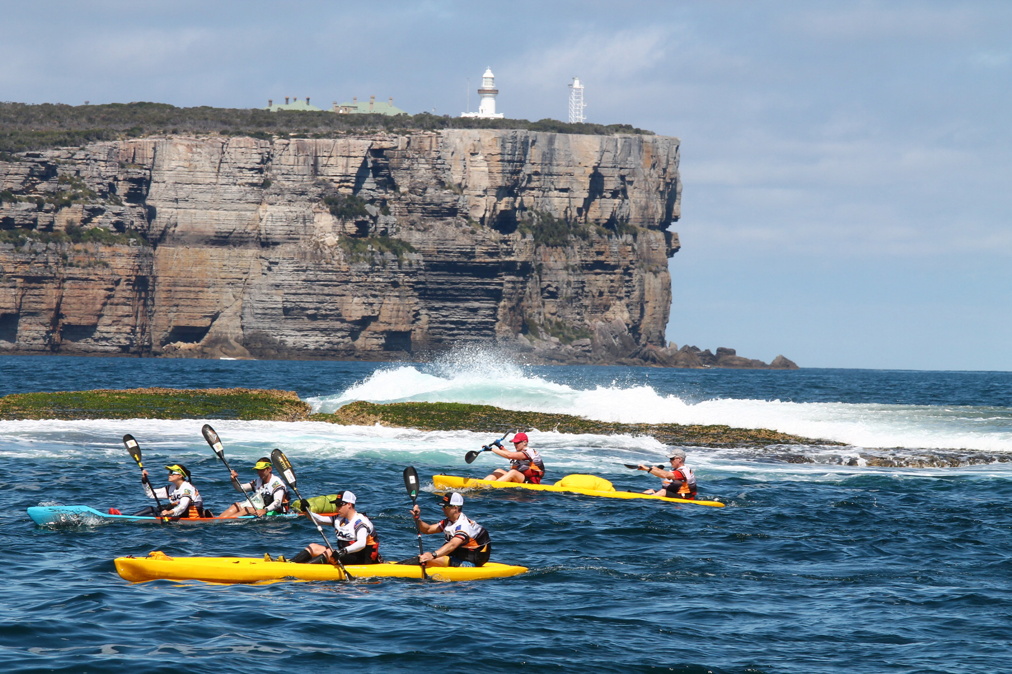 Paddling past Point Perpendicular