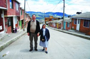 Nick Brown and Rosaura Patino