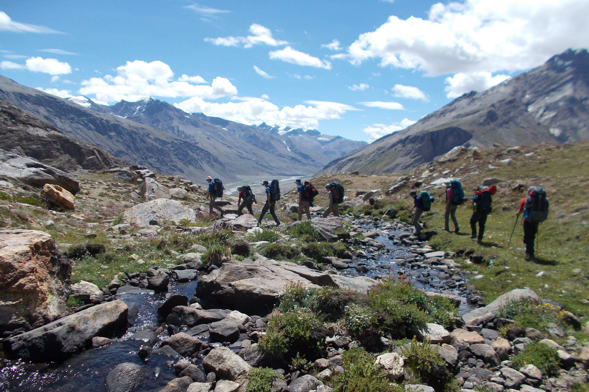 On expedition, Himalaya 2016 by Chief Scientist Naomi Holmes