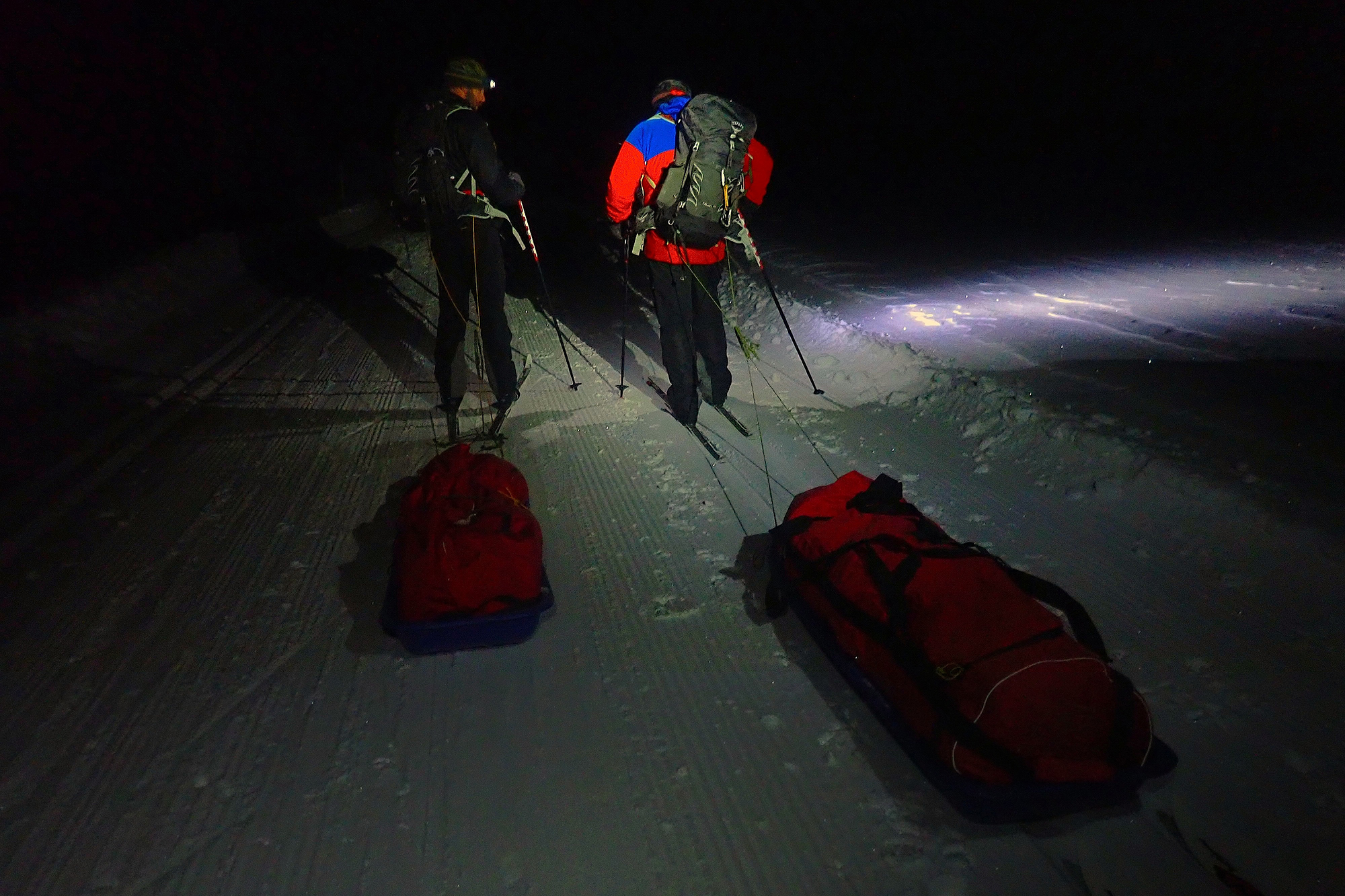 Night polk training in Norway