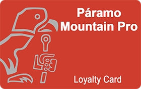 Paramo Mountain Pro Loyalty Card