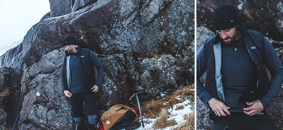 Páramo Men/'s Torres Medio Insulating walking hiking Gilet